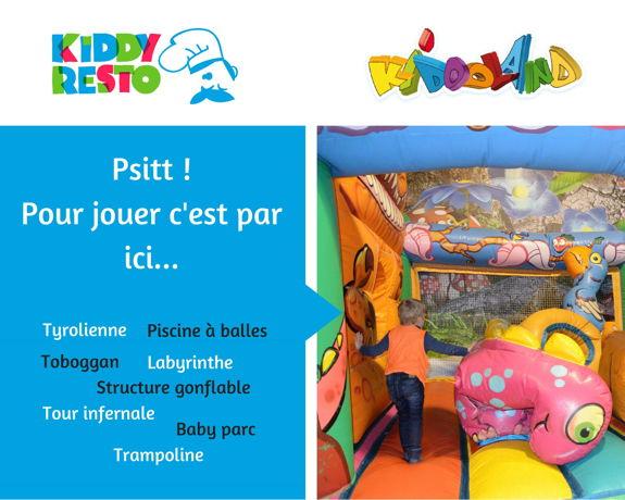 Kiddy resto - jeu concours Kiddoland